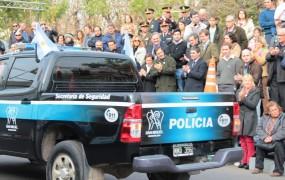 La Policía Municipal también participó del desfile