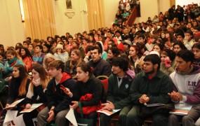 La jornada contó con cerrca de mil alumnos de escuelas públicas y privadas de san miguel