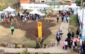 La nueva plaza Santa Cruz en barrio Obligado