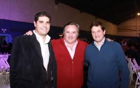 Max Perkins y Darío Biondo estuvieron junto a Joaquín