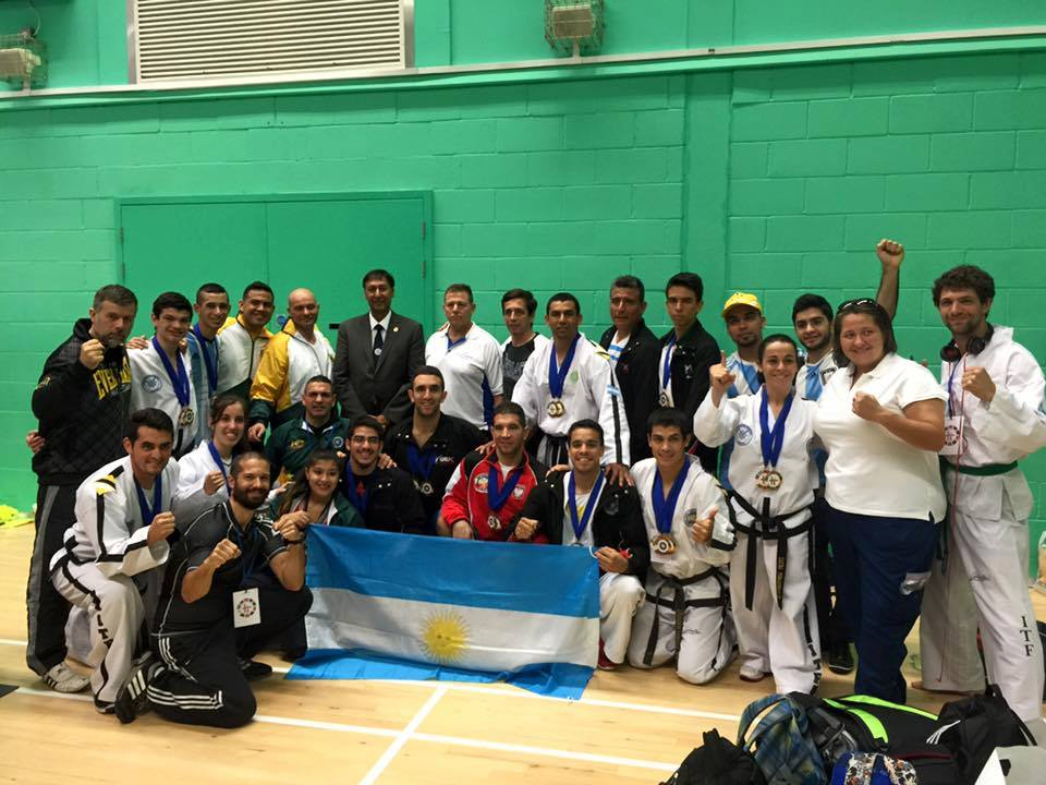 San Miguel tuvo una destacada actuación en un Torneo internacional de Taekwon-do