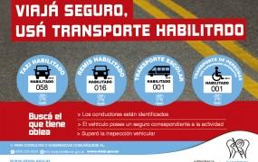 San Miguel avanza en la promoción del transporte seguro