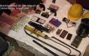 """Gracias a la investigación de la Policía Municipal, cayó en San Miguel """"la banda del criquet"""""""