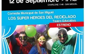 """Obra de Teatro """"Los Súper Héroes del Reciclado"""""""