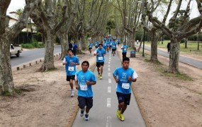 Con la maratón 2015 se dio inicio a las Fiestas Patronales