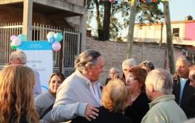 Joaquín de la Torre inauguró diez cuadras de pavimento para una zona clave de Barrufaldi