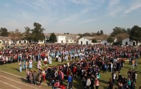 San Miguel: En una emotiva jornada, más de 4 mil chicos participaron del cierre de Olimpiadas Deportivas y Culturales