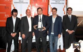 Federico Kruse recibe el Premio a la innovación en Gestión Pública