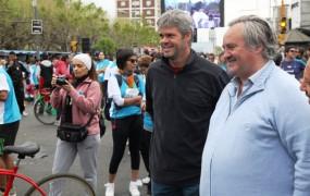 Joaquín habló de la importancia del deporte y la cultura para ganar las calles de San Miguel