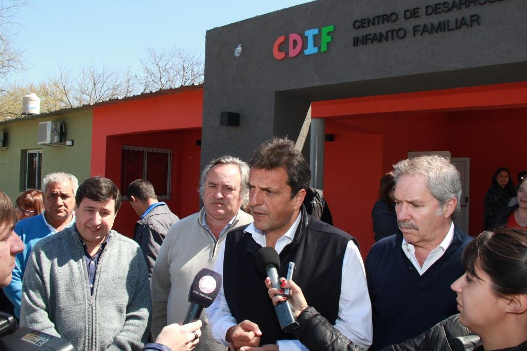 Joaquín de la Torre recibió a Sergio Massa con eje en la Primera Infancia