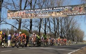 En un gran evento deportivo, el velódromo de Bella Vista lució su plataforma para recibir a la 5ta vuelta del ciclismo