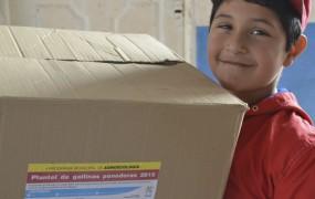 La municipalidad de San Miguel continúa promoviendo la seguridad alimentaria