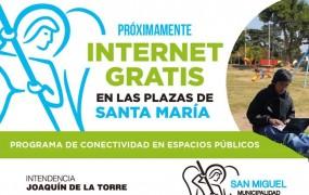 San Miguel avanza con su plan para instalar Wi Fi libre en las Plazas del distrito