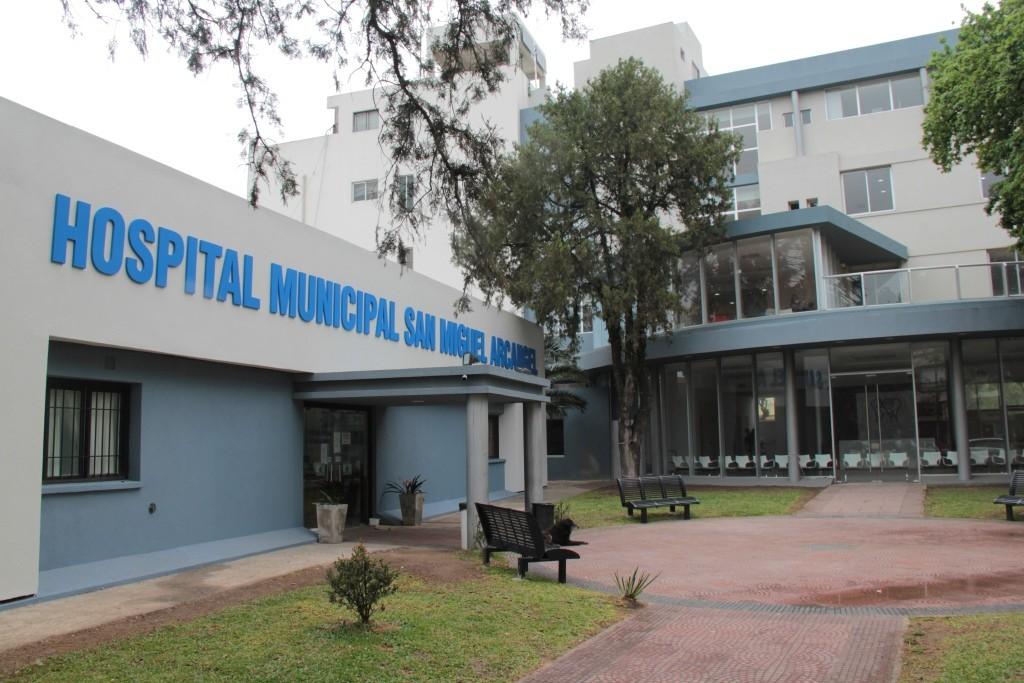 La fachada del nuevo Hospital Municipal de San Miguel