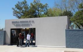 La nueva fachada de la escuela 11 en Barrio Don Alfonso