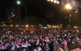 Las calles Belgrano y Perón estuvieron colmadas