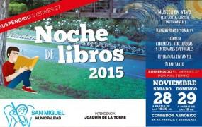Vuelve a San Miguel la Feria del Libro local