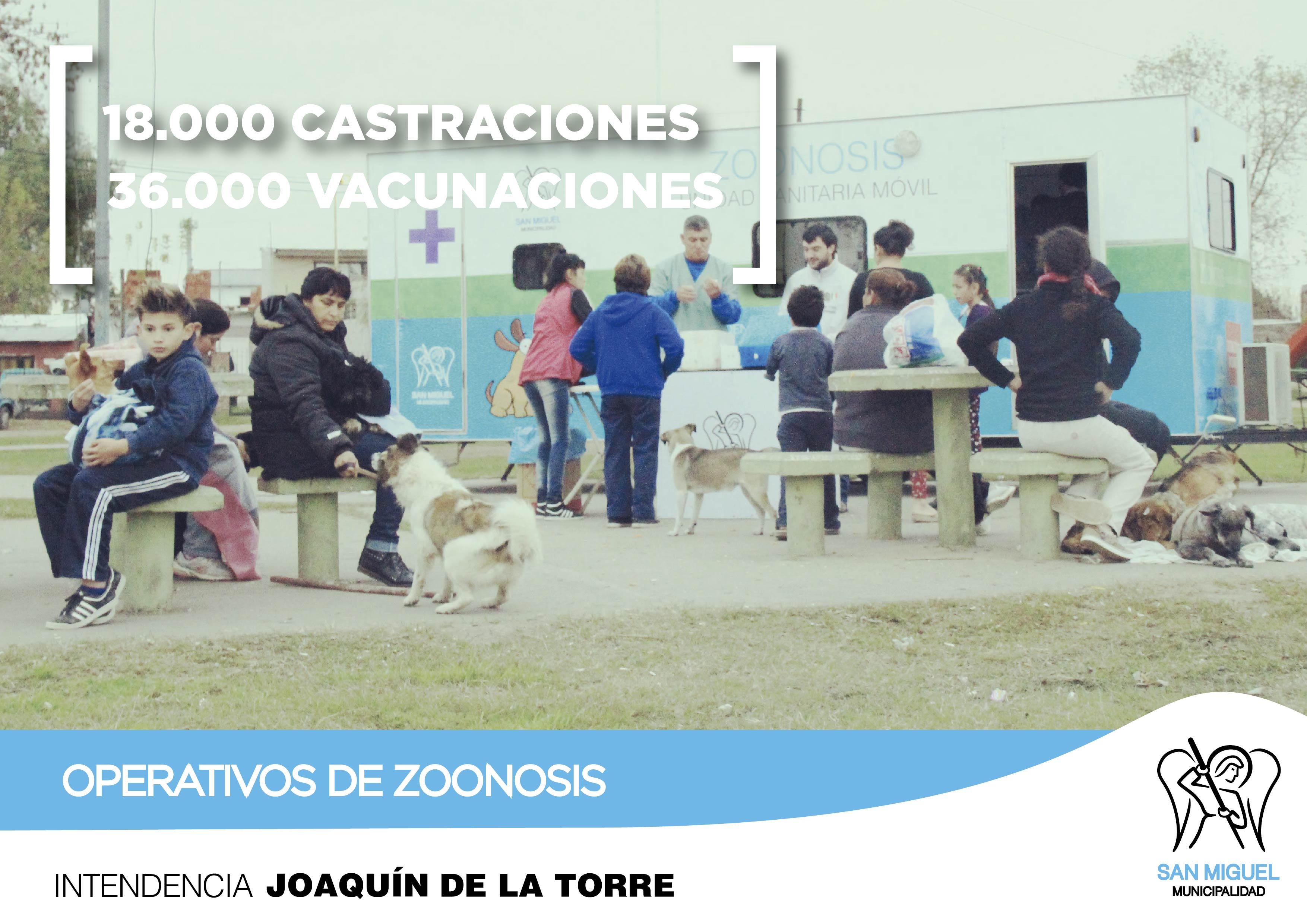 La Municipalidad de San Miguel, a través de Zoonosis, superó las 18.000 castraciones