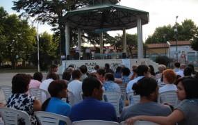 El acto de premiación se realizó en la Plaza de las Carretas
