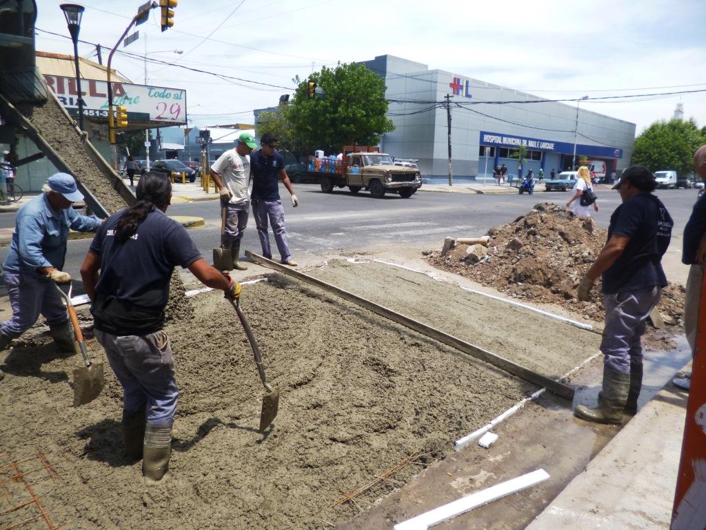 Reparación de placas de hormigón en  Perón e Irigoin