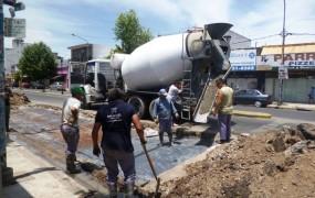 Reparación de placa-llenado en Perón e Irigoin (19)