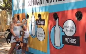 Reciclado: San Miguel sumó un nuevo Eco-Punto en Plaza de las Carretas