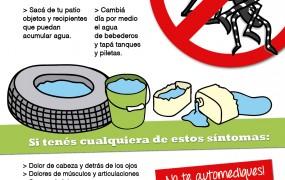 Dengue: San Miguel continúa con su campaña de prevención y fumigaciones