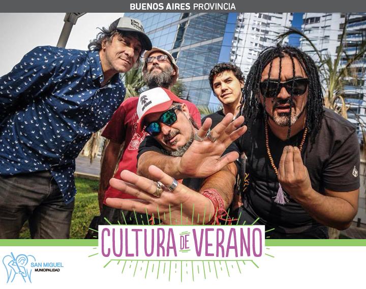 Cultura de Verano: Alejandro Lerner y Kapanga llegan a San Miguel