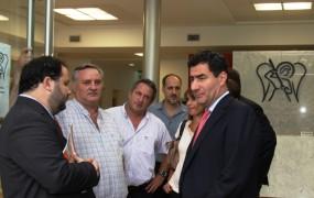 Joaquín de la Torre recorrió el nuevo Hospital Municipal San Miguel Arcángel junto al titular del PAMI