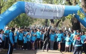 """Maratón de postas """"San Miguel Comunidad Donante"""""""