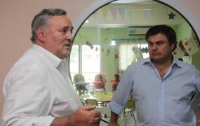 Joaquín de la Torre visitó el Centro de Desarrollo Infantil de Barrio El Polo junto al Ministro de Desarrollo Social Bonaerense