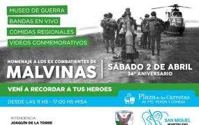 San Miguel prepara el homenaje a los héroes de Malvinas
