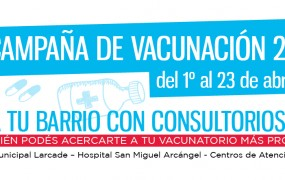 Campaña de vacunación para niños y mujeres embarazadas en San Miguel