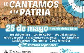 San Miguel prepara los festejos para el 25 de Mayo