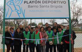 El Municipio sigue invirtiendo en la construcción de playones deportivos para la comunidad educativa