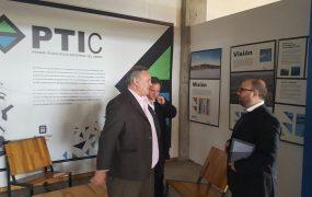 Joaquín de la Torre visitó el parque tecnológico industrial de montevideo
