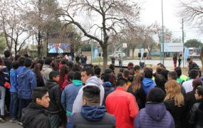 La Plaza Presidente Perón en Santa Brígida ahora tiene un playón deportivo para toda la comunidad