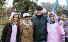 Jornada de voluntariado: intervinieron una Plaza contra el cambio climático