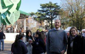 El Director de medioambiente acompañó a la diputada provincial Marpia José Tedeschi