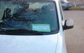 El cartel identificatorio debe estar en el frente del parabrisas y en el vidrio trasero