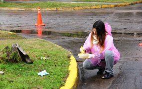 La iniciativa tuvo lugar en la plaza Malvinas, en Bella Vista