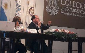 Julián Segovia expuso en el panel del Municipio de San Miguel