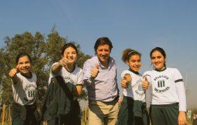 Alumnos de San Miguel celebraron la Fiesta del Árbol en la Reserva Natural