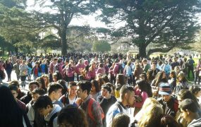 Se duplicó la cantidad de alumnos y universidades en la Expo Estudiantil de San Miguel
