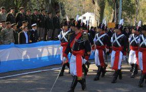 Jaime Méndez participó del 115° aniversario de la Guarnición Militar Buenos Aires