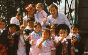 Bicentenario: siguen los festejos en San Miguel con colegios de Ciudad Santa María