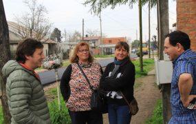 Jaime Méndez en obras de asfaltos en Trujui 3
