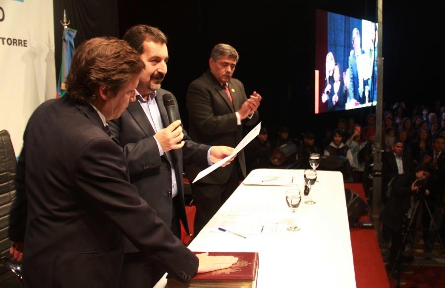 Tras la designación de Joaquín de la Torre como Ministro de Producción, Jaime Méndez asumió la intendencia de San Miguel
