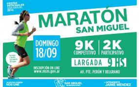Se viene una nueva edición de la Maratón San Miguel Arcángel
