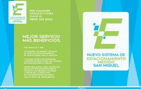 Comienza el nuevo sistema de estacionamiento medido en San Miguel
